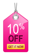 Coupon 10% OFF