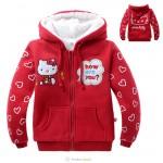 一口价H89D9032红羊羔绒外套