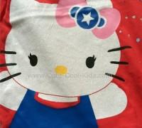 เสื้อยืดแขนสั้น สีชมพู KITTY