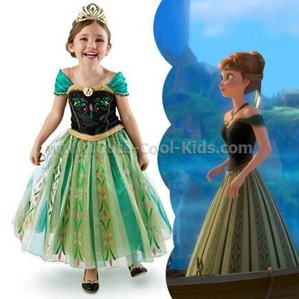 ชุดกระโปรง Frozen Anna
