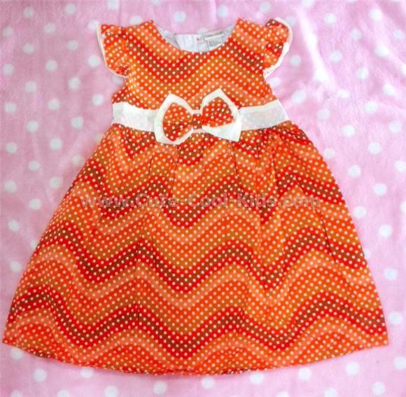 เสื้อผ้าเด็ก ชุดกระโปรงเด็กหญิง ขนาด 4T* 5T* 6T* [Dress-1113]