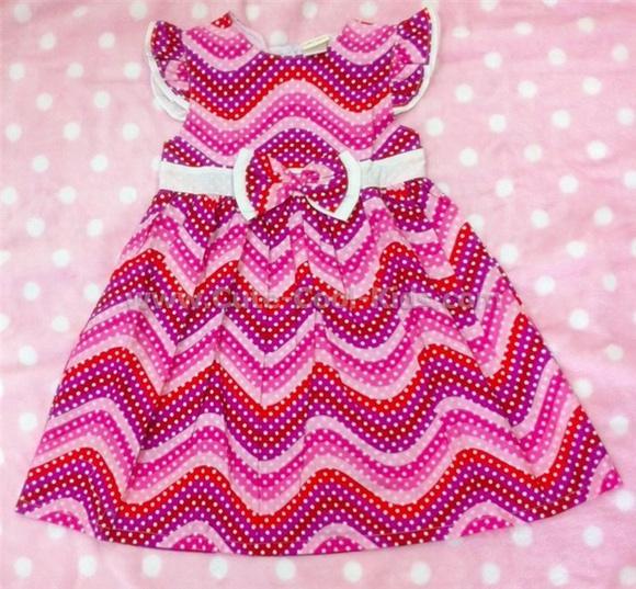 เสื้อผ้าเด็ก ชุดกระโปรงเด็กหญิง ขนาด 4T* [Dress-1110]