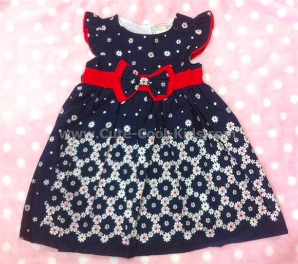 เสื้อผ้าเด็ก ชุดกระโปรงเด็กหญิง ขนาด 4T* [Dress 1120]