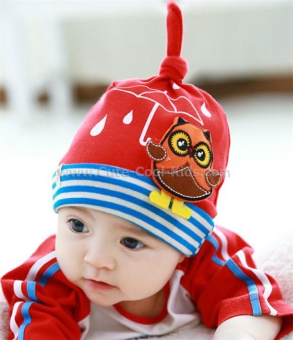 หมวกเด็ก แบบเกาหลี (0-2 ปี)