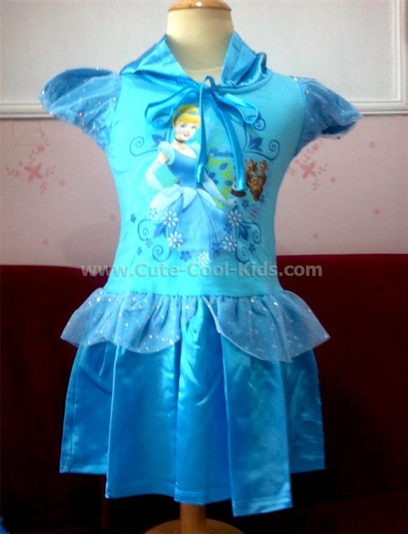 เสื้อผ้าเด็ก ชุดกระโปรงเจ้าหญิง Cinderella - S* M* L*
