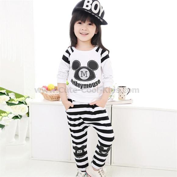 ชุดเด็กสไตล์เกาหลี 100 110 120 130 140