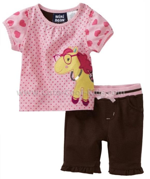 ชุดเด็ก ลาย Pony 100 110 130