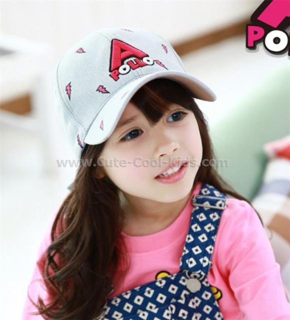 หมวกเด็ก แบบเกาหลี รอบศรีษะ 50-54 cm (3-7 ปี)