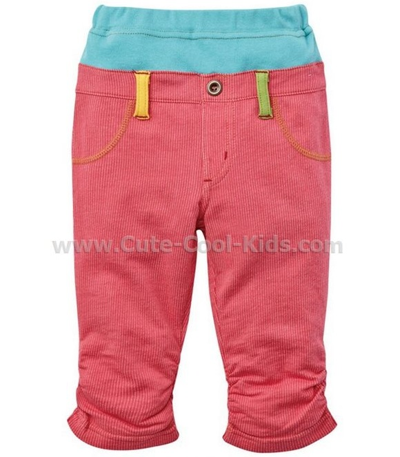 กางเกงขายาวแบบ Nissen สีชมพู 80 90 110 120