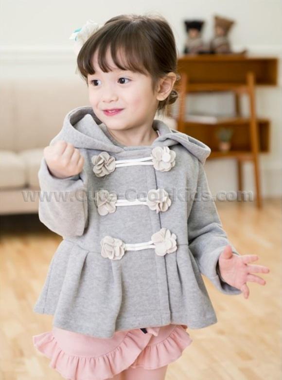 เสื้อแขนยาวเด็กสไตล์เกาหลี 100 110 120 130 140