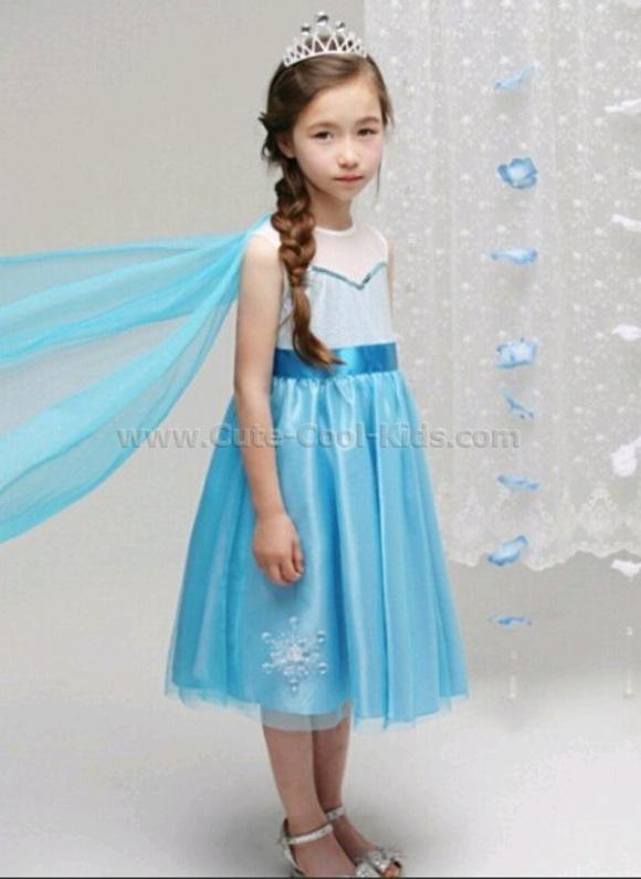 ชุดกระโปรง Frozen Elsa เจ้าหญิงเอลซ่า