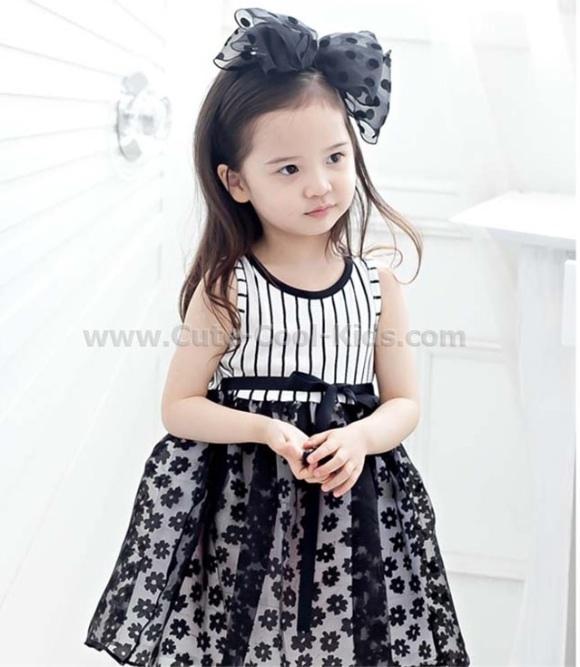 ชุดกระโปรงเด็กแฟชั่นเด็กเกาหลี - 120 130