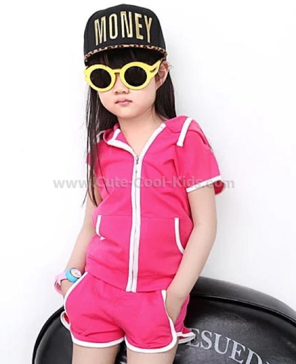 ชุดเด็ก เสื้อ+กางเกงเด็กแฟชั่นเกาหลี 140*