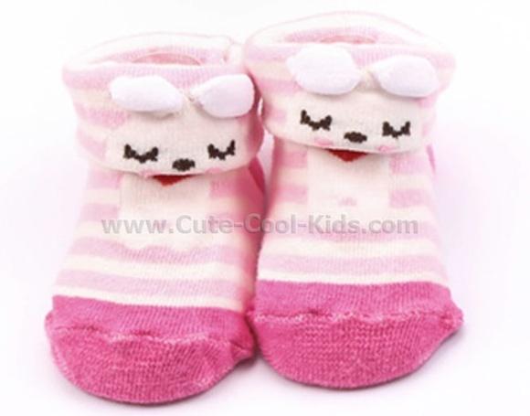 ถุงเท้าเด็กอ่อน 0-6 เดือน
