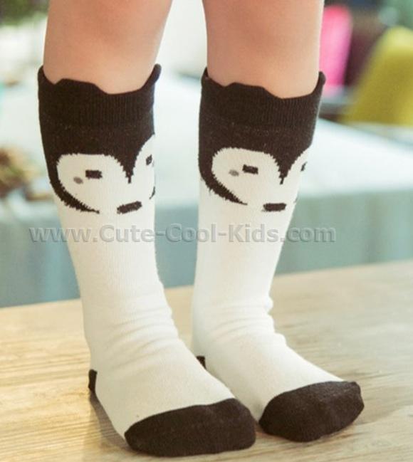 ถุงเท้าเด็ก ข้อยาว 4-6 ขวบ