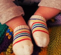 ถุงเท้าเด็ก สิ่งเล็ก ๆ ที่ต้องมี