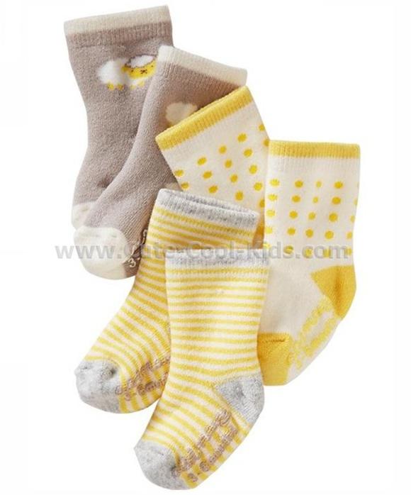 ถุงเท้าเด็ก เซต 3 คู่ ขนาด 1-3 ปี