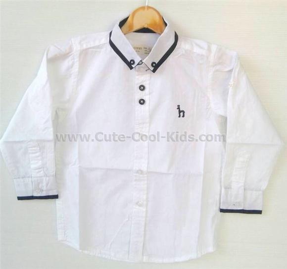 เสื้อเชิ๊ตเด็กชาย 2-3Y 3-4Y 4-5Y 5-6Y 7-8Y 9-10Y