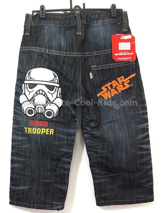 กางเกงยีนส์เด็ก Star war ขนาด 4-* 6-* 8-* 10-* 12-* 14-*