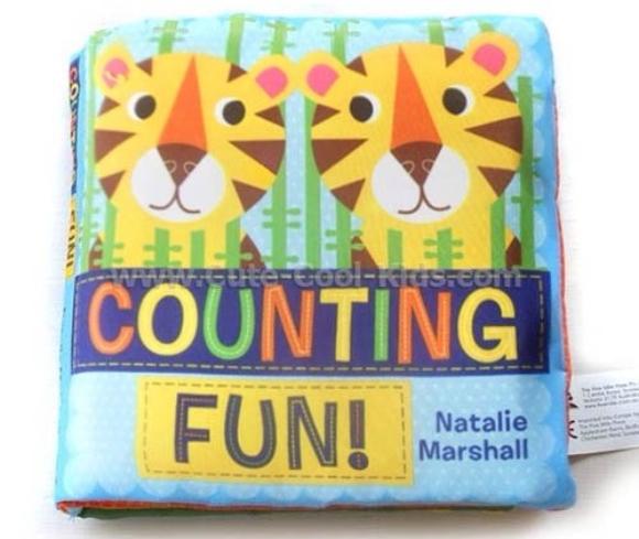 หนังสือผ้า - Counting Fun. 15x15cm