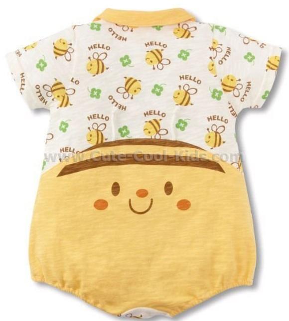 เสื้อผ้าเด็ก บอดี้สูทแฟนซี ลายผึ้ง - 95
