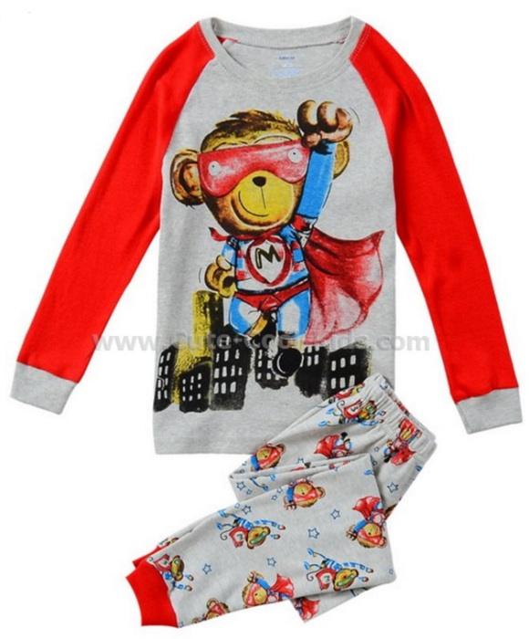 ชุดนอนเด็กแนว BabyG ลิง 2Y-- 3Y-- 4Y-- 5Y-- 6Y