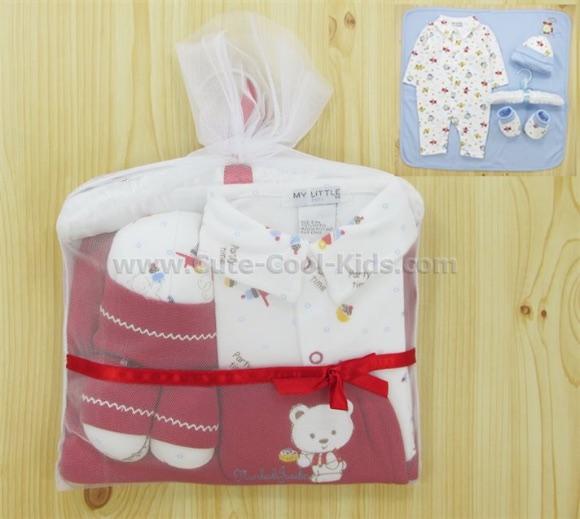 ชุดเซตเด็กอ่อน ชุดของขวัญ Gift Set Size 0-3 เดือน