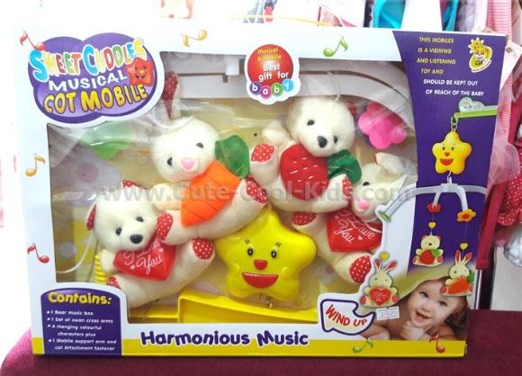 ของเล่นเด็ก โมบายหมีน้อย