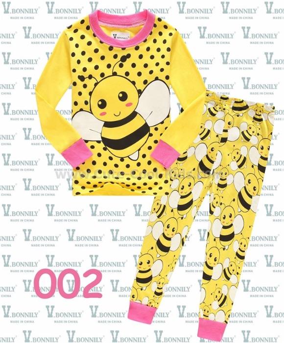 ชุดนอนเด็กแนว Baby G Bee 1Y(3) 2Y(3) 3Y(3) 4Y(3) 5Y(3) 6Y(3) 7Y(3) 8Y(3)
