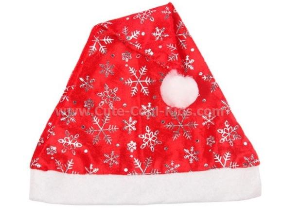 หมวก Christmas ผ้าสำลี เบา (31)