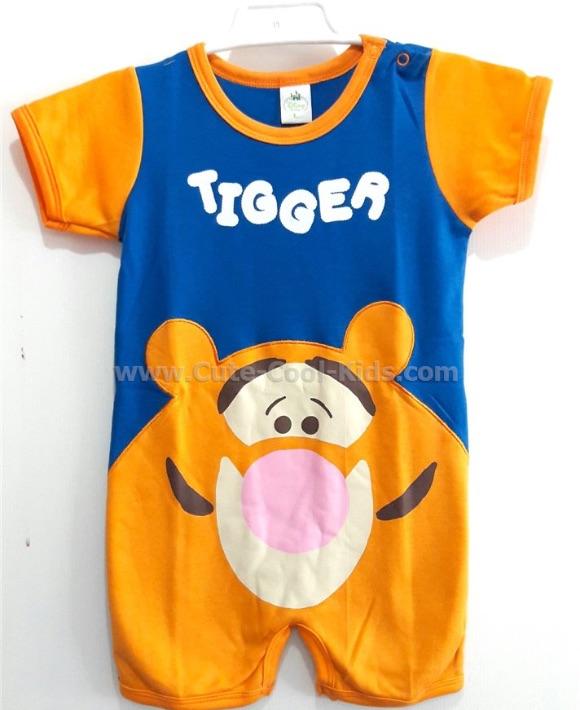 บอดี้สูทเด็กลายเสือ Tigger S* L*